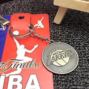Llavero de aleación con logotipo de los equipos de la NBA ...