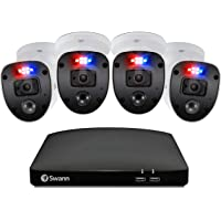 Swann Enforcer 4 Camera 4 Channel 1080p Full HD DVR Security System (SWDVK-446804SL-US)