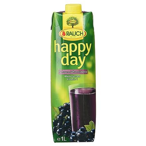 Rauch Happy Day Schwarzer Johannisbeernektar mit Vitamin C, (1 x 1 ...