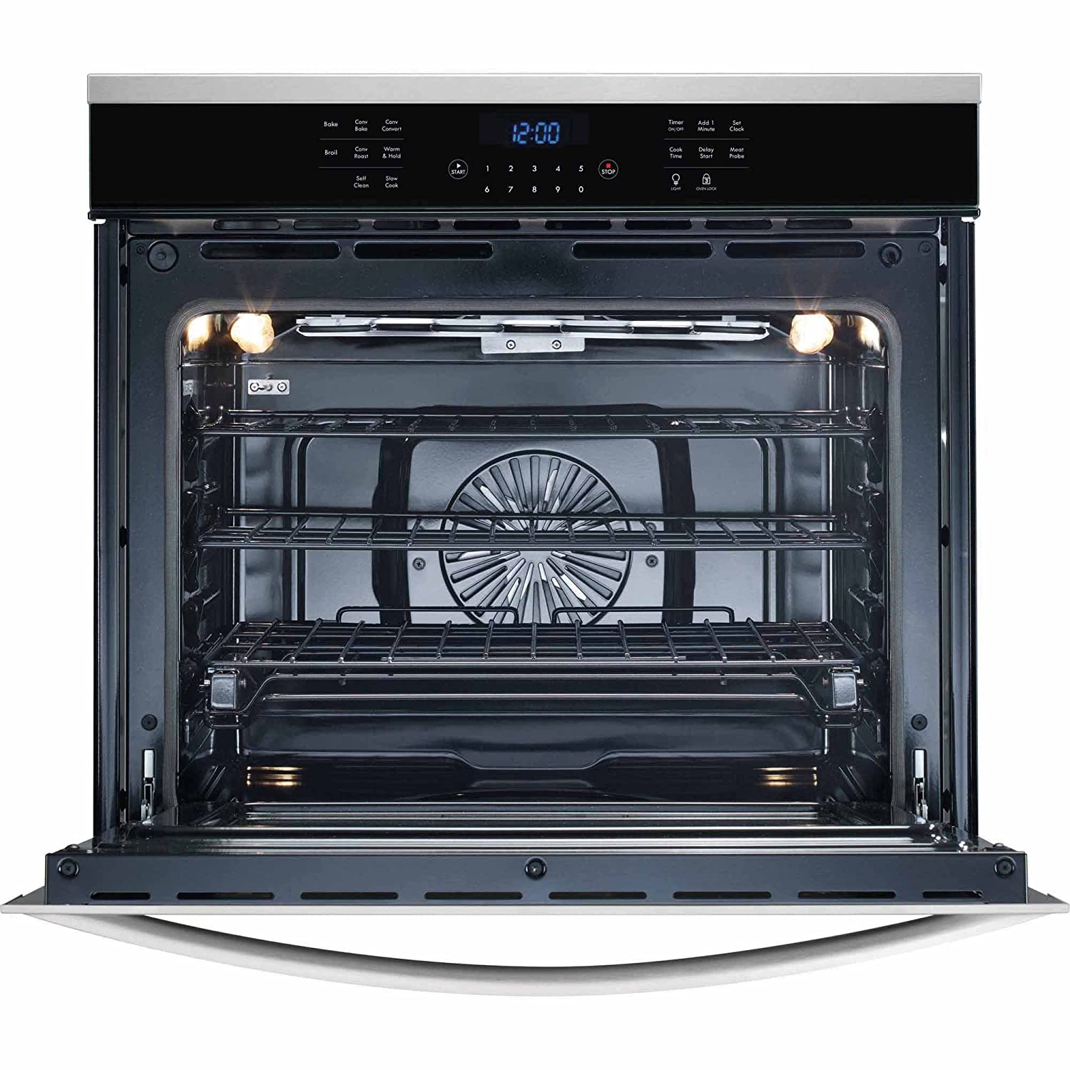 """Amazon.com: Kenmore Elite 48353 30"""" Electric Single Wall Oven with True  Convection in Stainless Steel, includes delivery and hookup (Available in  select ..."""