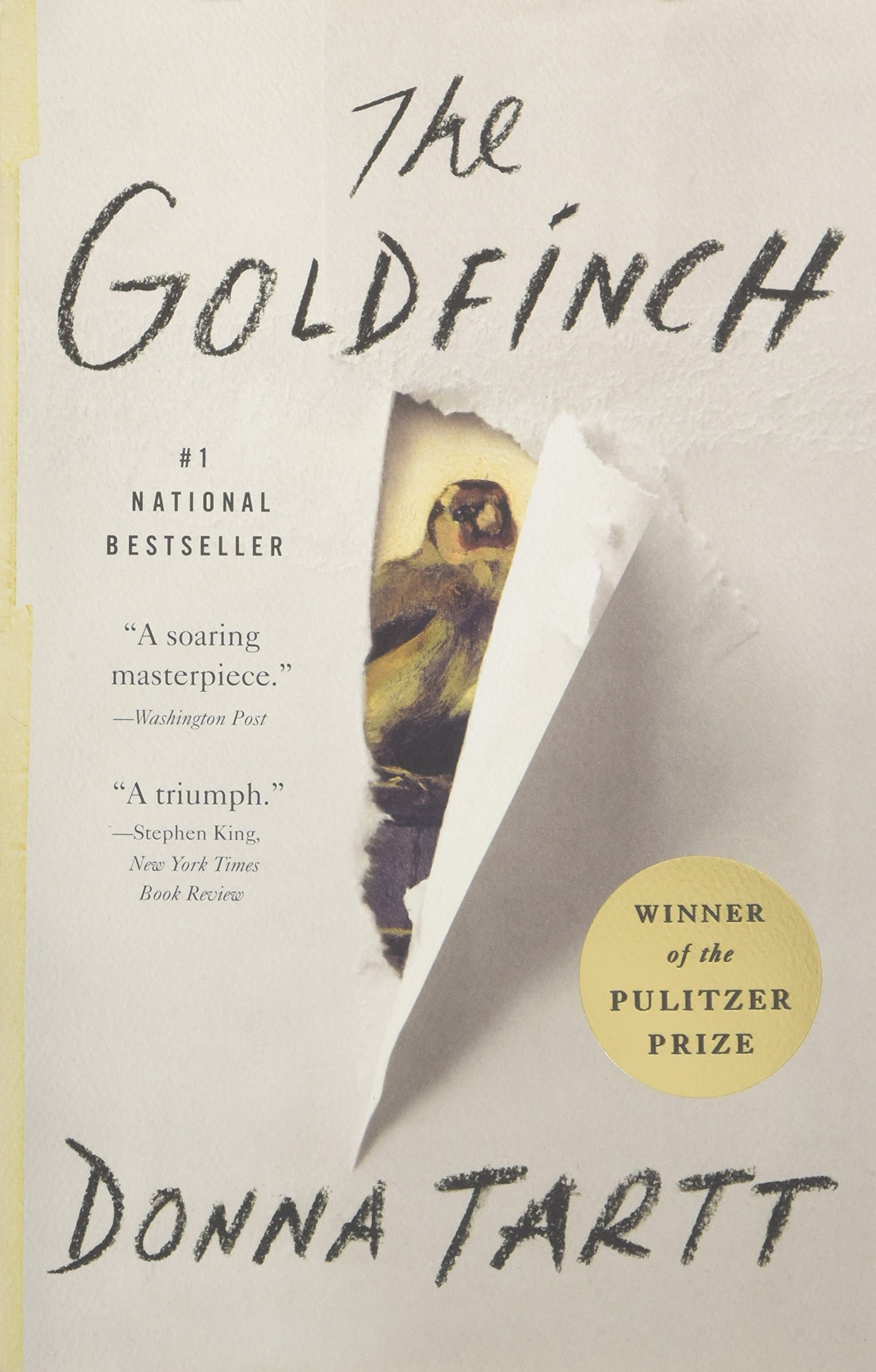 Goldfinch Novel Pulitzer Prize Fiction product image