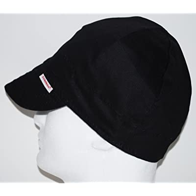 Comeaux Caps Reversible Welding Cap Solid Black 7 1/2