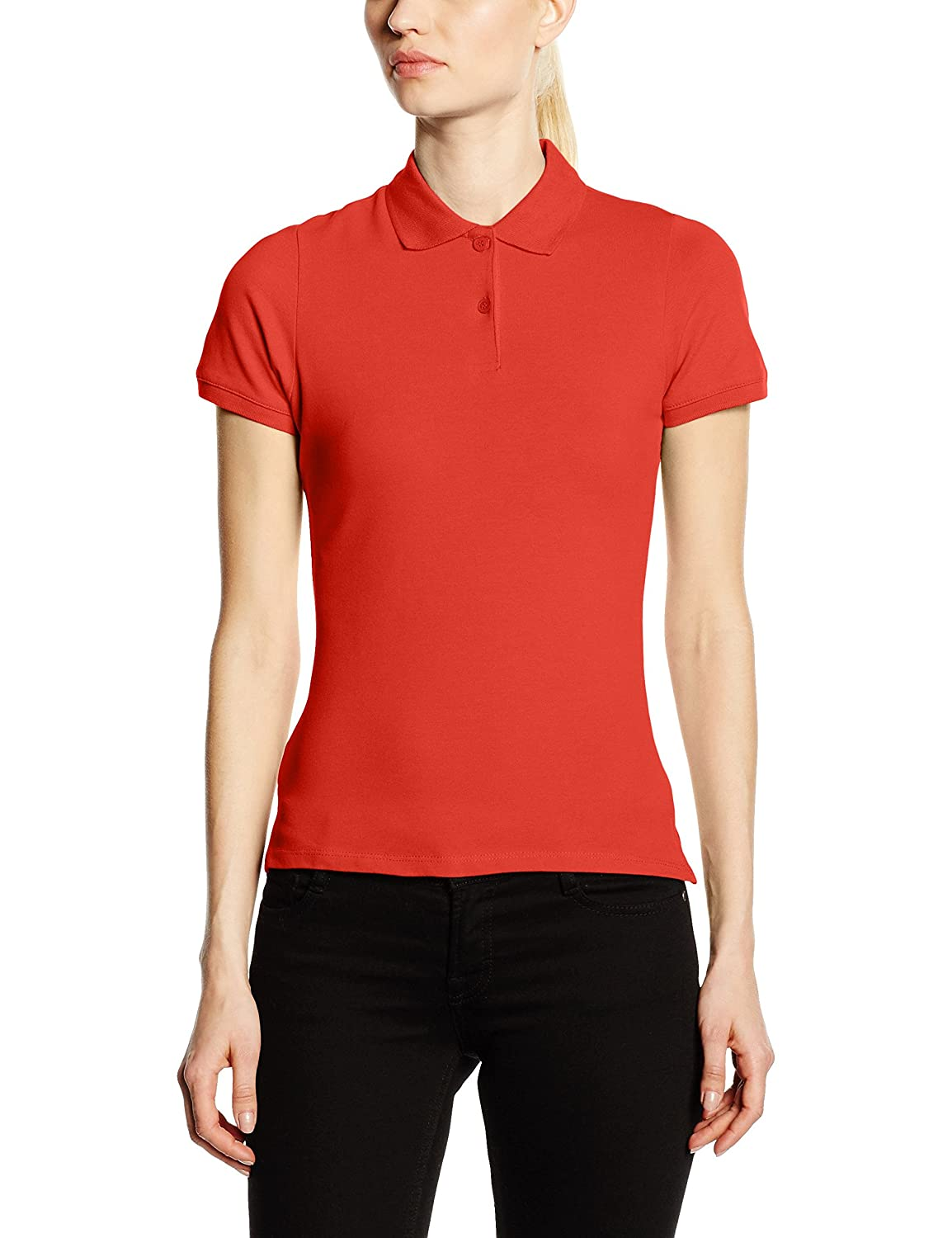 Fruit of the Loom Women's Lady-Fit Polo Shirt 63-560-0