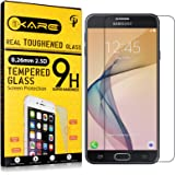 Galaxy J7 Prime Tempered Glass, iKare 2.5D 9H Tempered Screen Protector for Samsung Galaxy J7 Prime