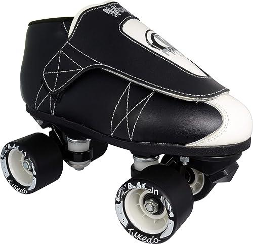 VNLA Vanilla Jr. Tuxedo Jam Skate black low cut boot