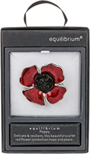 equilibrium Poppy Remembrance Brooch Jewellery Collection