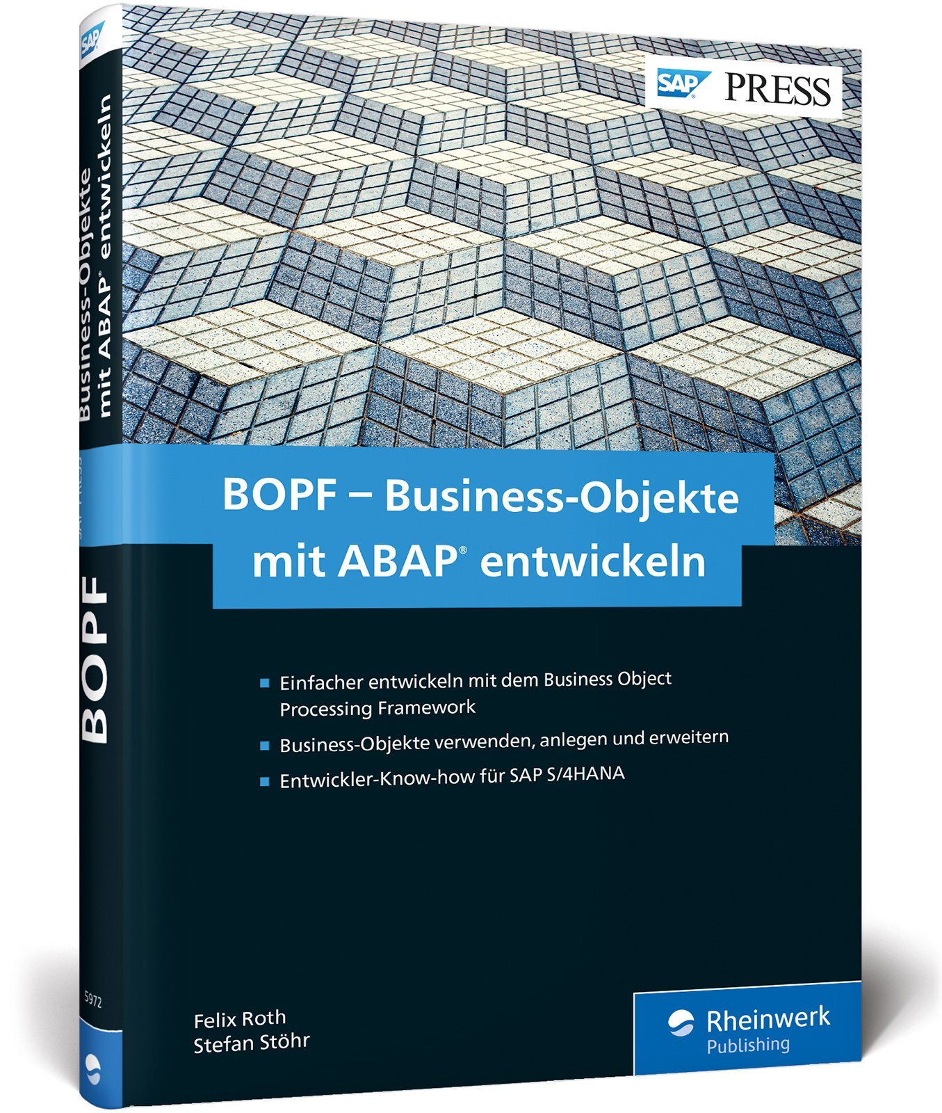 BOPF – Business-Objekte mit ABAP entwickeln: Das Business Object Processing Framework für das neue S/4HANA-Programmiermodell (SAP PRESS) Gebundenes Buch – 27. Dezember 2017 Felix Roth Stefan Stöhr 3836259729 COMPUTERS / General