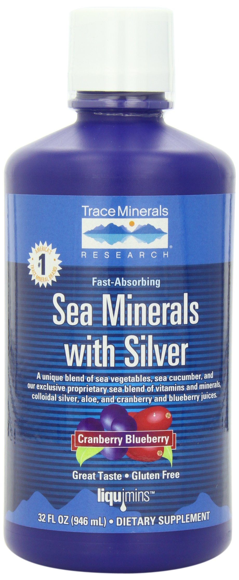 32 Research Based Instructional Strategies: Sea Minerals With Silver, 32 Fl