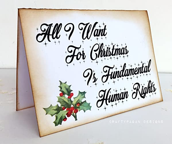 Amazon feminist christmas cards set of 3 holiday cards handmade feminist christmas cards set of 3 holiday cards m4hsunfo