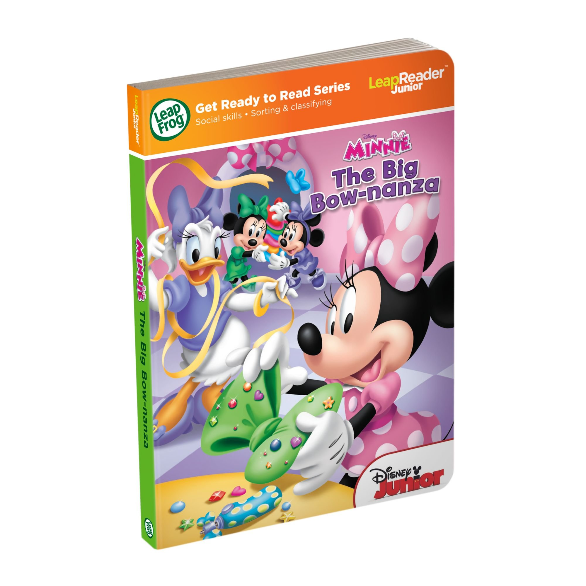 LeapFrog LeapReader Junior Book Disney Minnie (Works with Tag Junior)