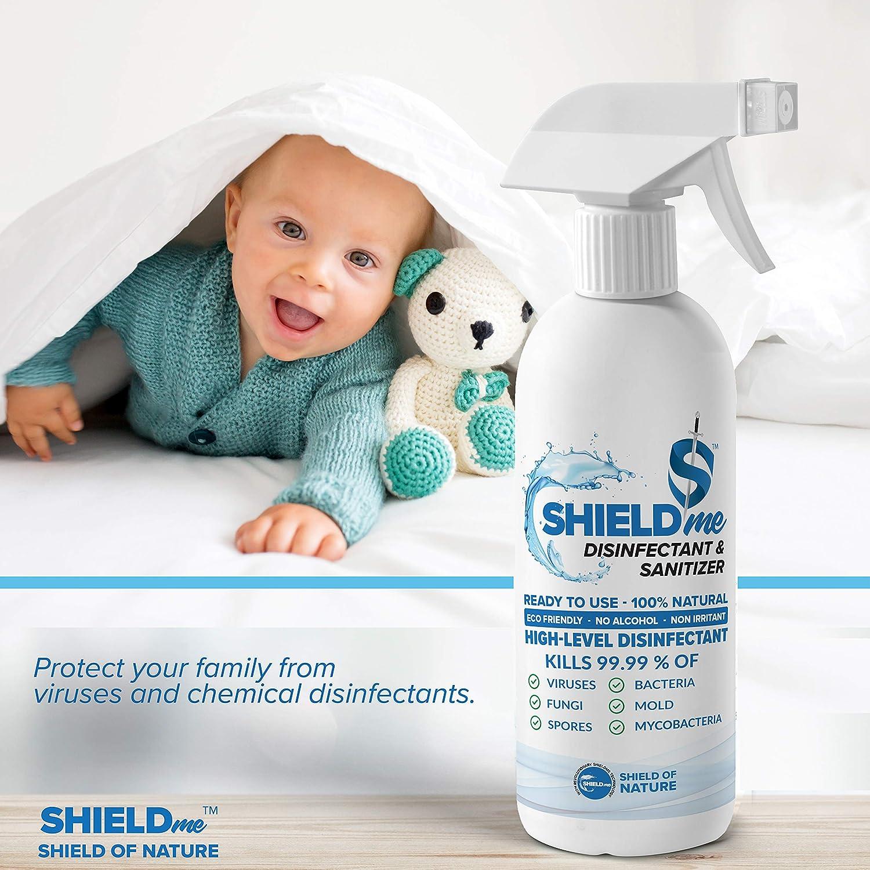 SHIELDme High Level Disinfectant & Sanitizer -250ml 7