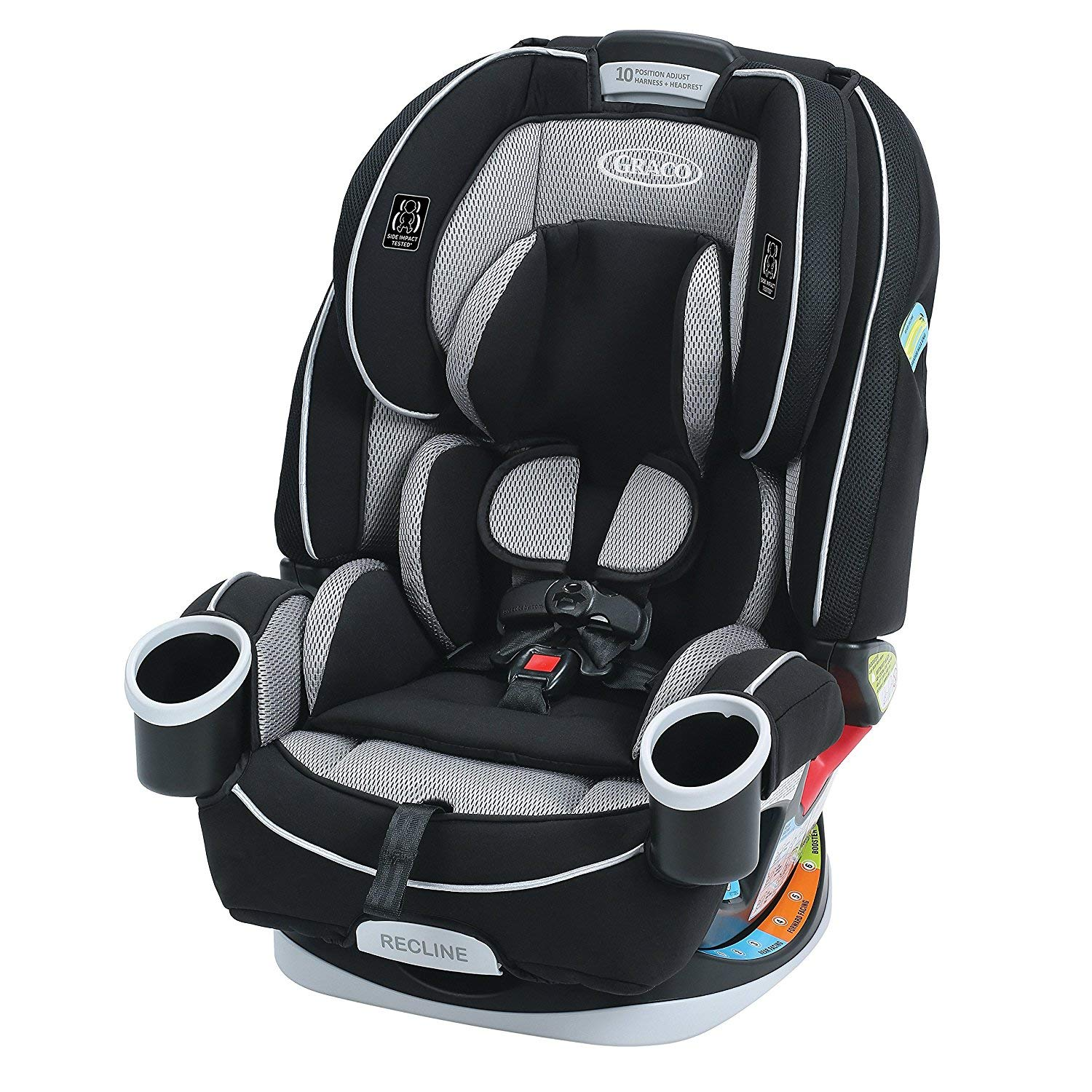 Graco 4Ever 4 in 1 Convertible Car Seat | Infant to Toddler Car Seat, with 10 Years of Use, Matrix