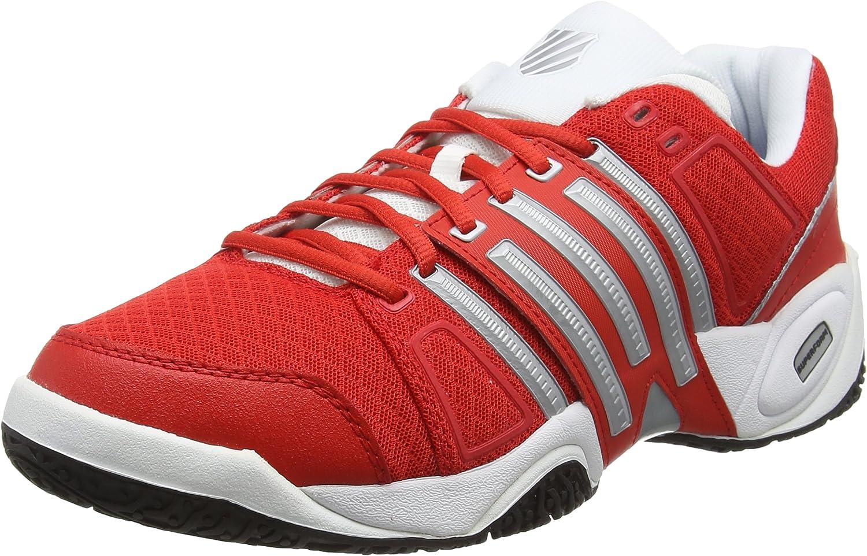 K-Swiss Accomplish II Mesh Omni Fiery - Zapatillas para Hombre, Color Rojo, Talla 42: Amazon.es: Zapatos y complementos