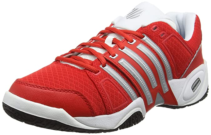 K-Swiss - Accomplish Ii Mesh Omni Rouge - Chaussures Chaussures-de-sport Homme