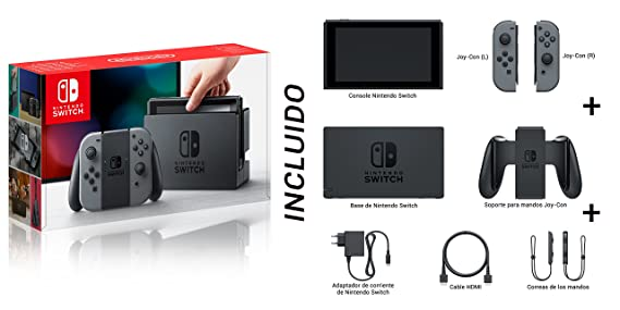 Nintendo Switch - Consola Color Gris + Ultra Street Fighter II: The Final Challengers: Amazon.es: Videojuegos