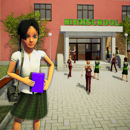 School Girl Simulator: Fun High School Games For Kids ()