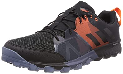 huge selection of cc6e7 adfe5 adidas Kanadia 8.1, Chaussures de Trail Homme, Multicolore (Carbon Core  Black