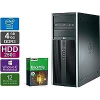 Ordinateur de Bureau HP Elite 8300 CMT - Core i5-3470 @ 3,2 GHz - 4Go RAM - 250 Go HDD - Lecteur DVD - Win10 Pro (Reconditionné Certifié)