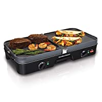 Hamilton Beach 38546 3-in-1 Electric Griddle /Grill