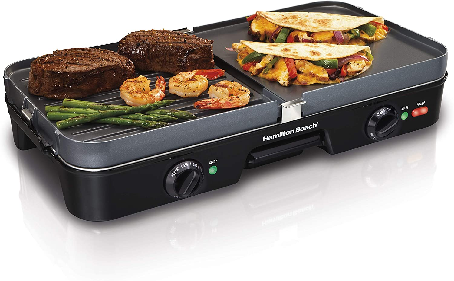 The Hamilton Beach 3-in-1 Electric Indoor Grill + Griddle Review