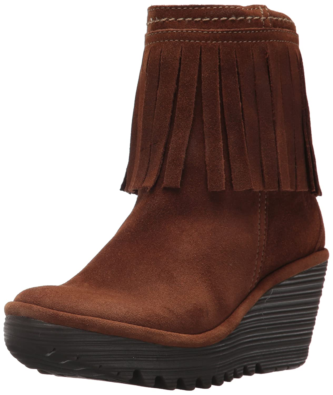 - Fly London Women's YAGI766FLY Boot, Camel Oil Suede, 38 M EU (7.5-8 US)