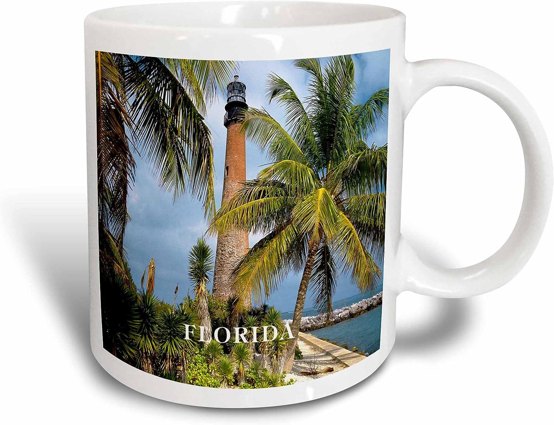 Amazon Com 3drose 1831 Cape Florida Lighthouse Ceramic Mug 15 Ounce Kitchen Dining