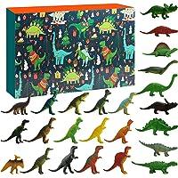 Sakmilu Christmas Advent Calendar - 2021 Dinosaurs Christmas Countdown Calendar 24 Pcs Dino Toy with Map Dinosaurs…