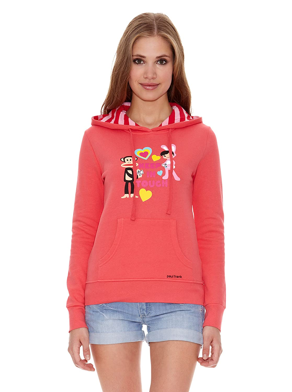 Paul Frank Sudadera W Pf Keep In Touch With Julius Rosa S: Amazon.es: Ropa y accesorios