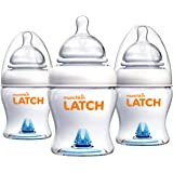 Munchkin Latch BPA-Free Baby Bottle, 4 Ounce, 3 Pack