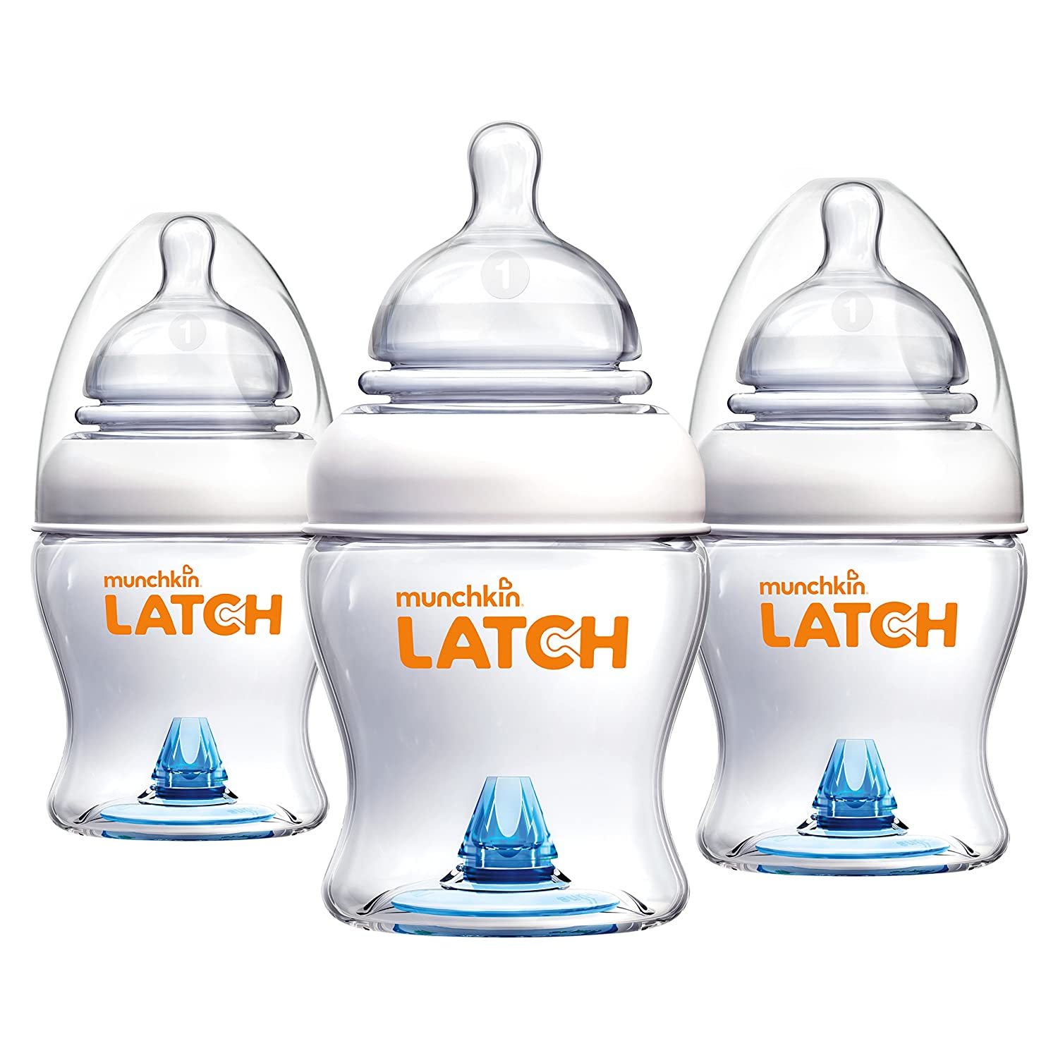 Munchkin Latch Anti-Colic Bottle for Breastfed Baby