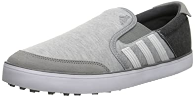adidas Men's Adicross SL Golf Shoe, Core Heather/White/Dark Grey, 9