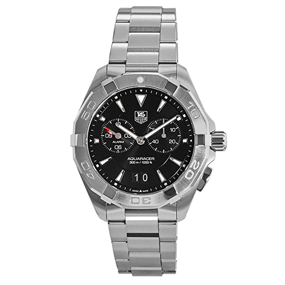 TAG Heuer para hombre Aquaracer de acero inoxidable reloj: Amazon.es: Relojes