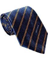 Versace Men's Striped Paisley Woven Silk Necktie