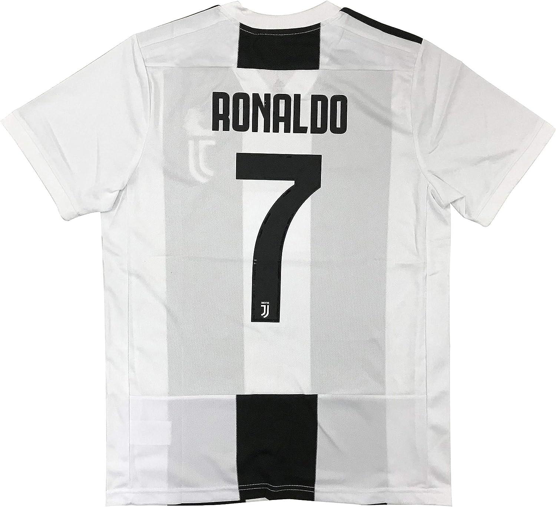 Zoylie New #7 Cristiano Ronaldo Men's Home Soccer Jersey