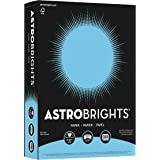 Astrobrights Color Paper, 8.5? x 11?, 24 lb/89 gsm, Lunar Blue, 500 Sheets (21528)