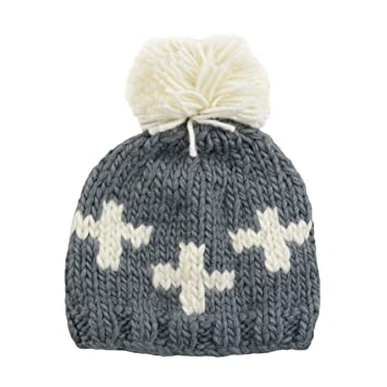 Amazon.com  Miko Swiss Cross Hand Knit Hat (Small 12-24 months 03a4fc9d288