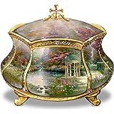 Thomas Kinkade Garden of Prayer Faith Music Box by Ardleigh Elliott