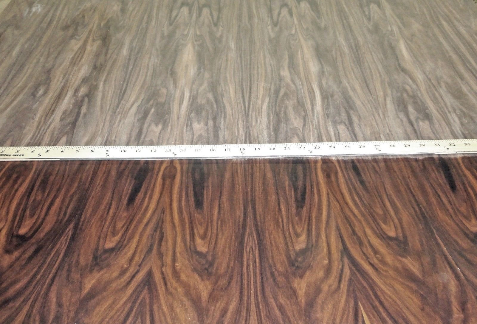 Rosewood South American wood veneer 48'' x 96'' with paper backer 1/40th'' thick