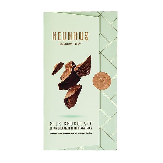 Neuhaus Chocolate con Leche Armonioso y Vainilla - 5 Paquetes de 100 gr - Total: