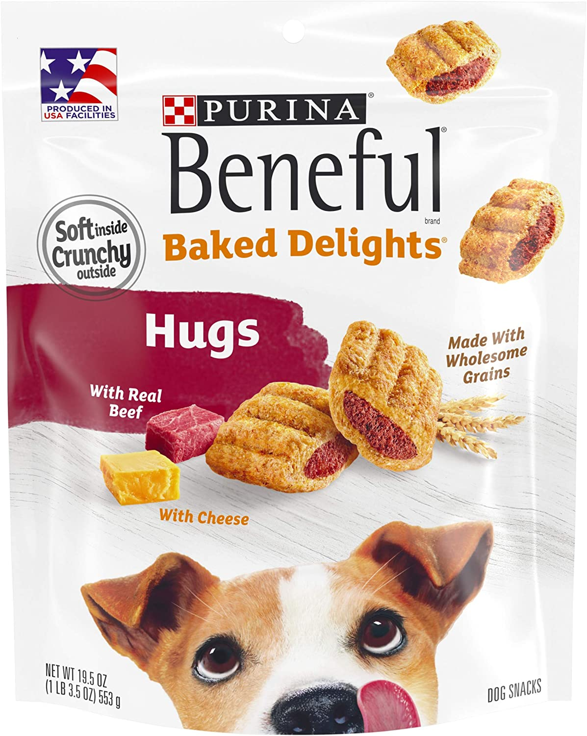 Purina Beneful Baked Delights Hugs Dog Treats