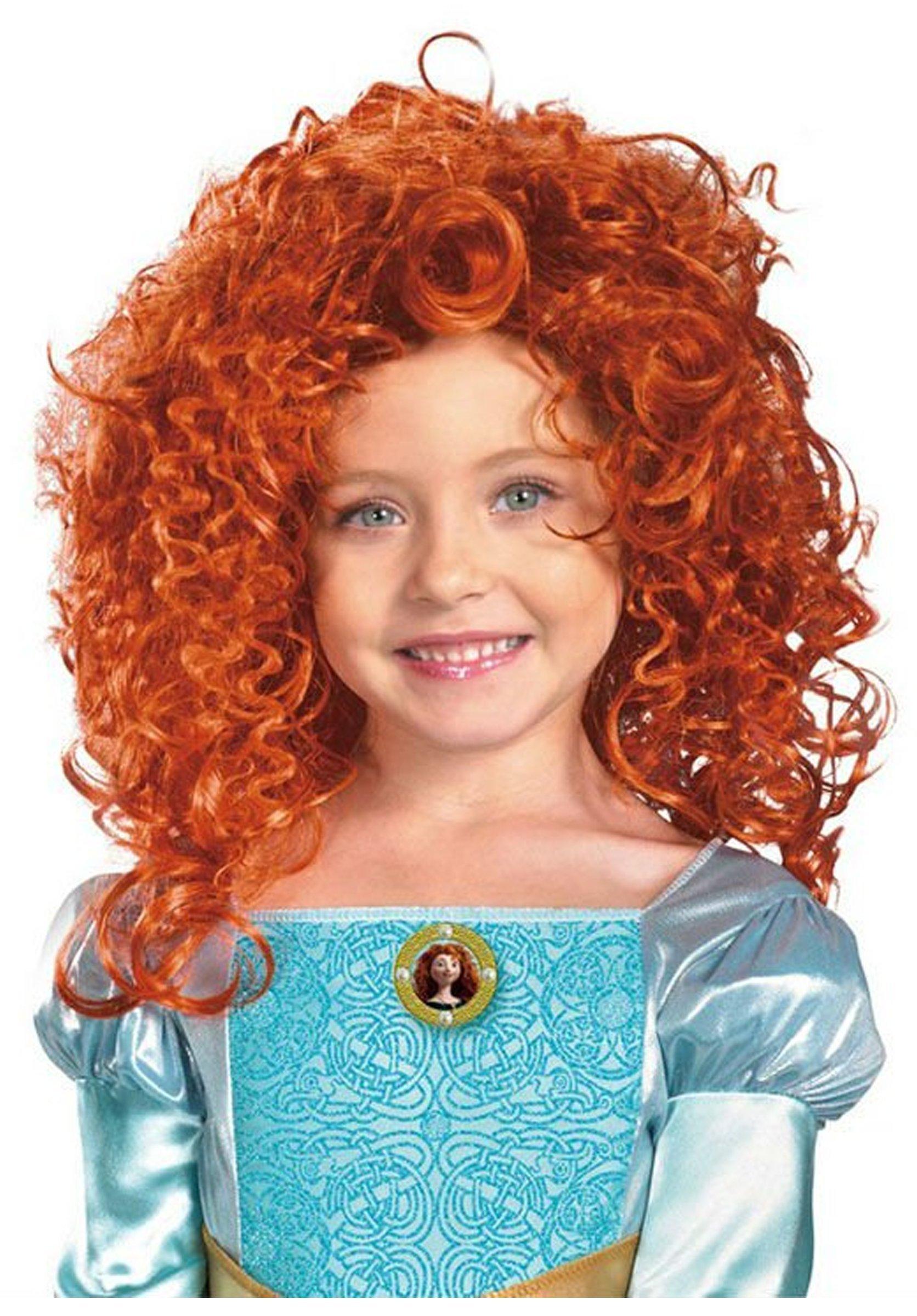 Merida Wig Costume Accessory