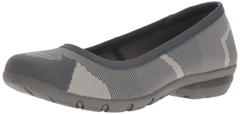 Skechers Women's Career-Quick Comfort Ballet Flat B01N3Z17RD 8 M US Charcoal/Grey