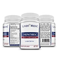 Hepatiben - Liver Detox Cleanse by Liver Medic. Detoxifies and Regenerates with...