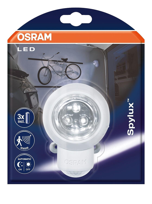 Osram Spylux - Luz de noche con encendido automático y sensor de movimiento, 2 unidades 0.23 watts: Amazon.es: Iluminación