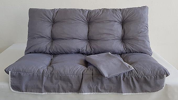 cm 135 Ricambio Completo di TETTUCCIO per Dondolo 3 POSTI Rigato Bianco Blu