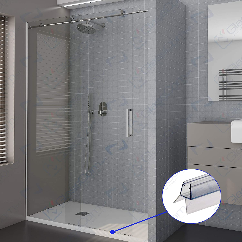 Junta para mampara de ducha Burlete doble Escurridor transparente ...
