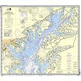 NOAA Chart 12273: Chesapeake Bay Sandy Point to Susquehanna River