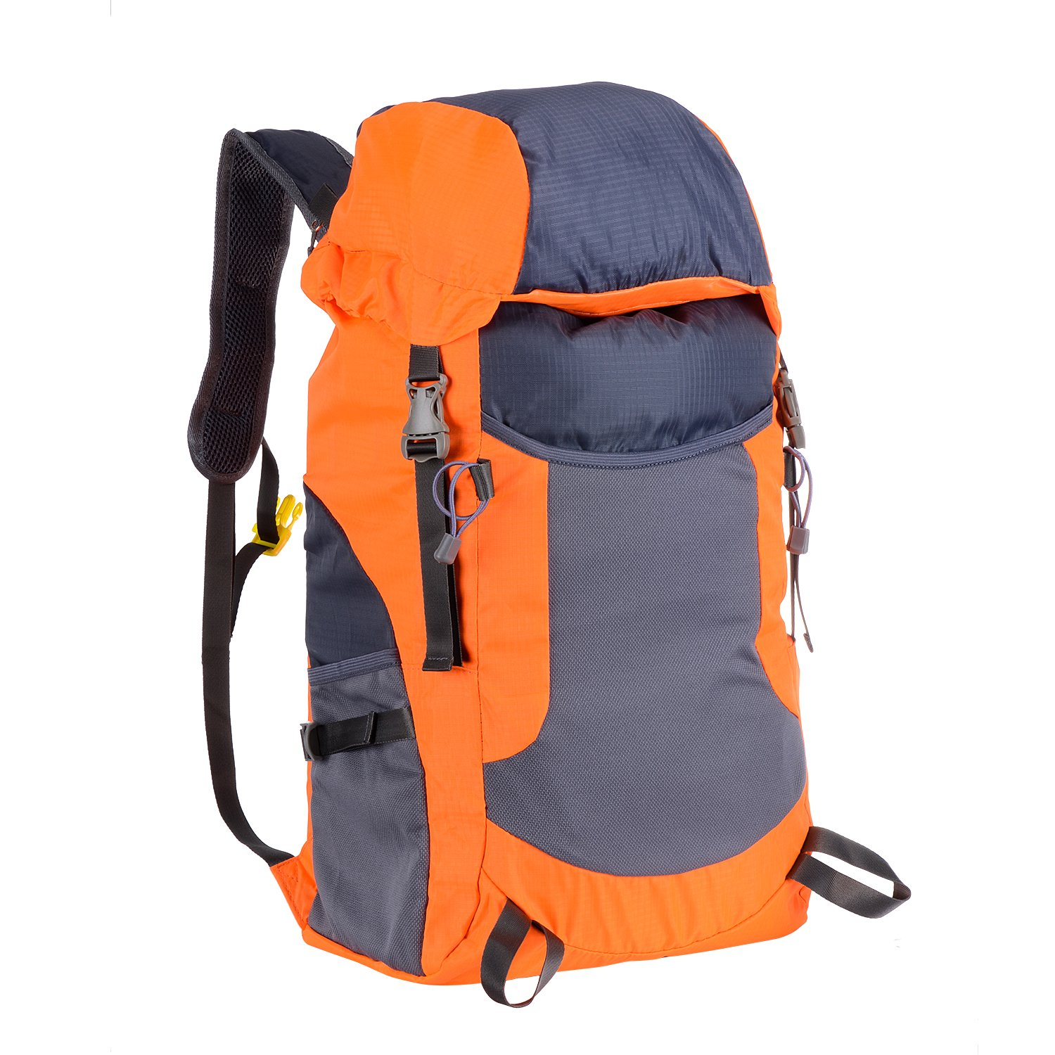 eefb4911c913 Amazon.com   Zoeson 35L Durable Foldable Handy Lightweight Travel Backpack  Daypack (Orange)   Sports   Outdoors