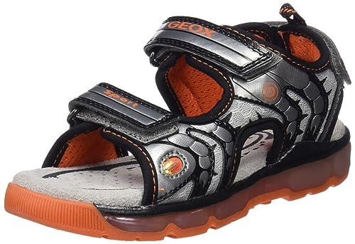 Geox J Sandal Android B, Sandalias con Punta Abierta para Niños: Amazon.es: Zapatos y complementos