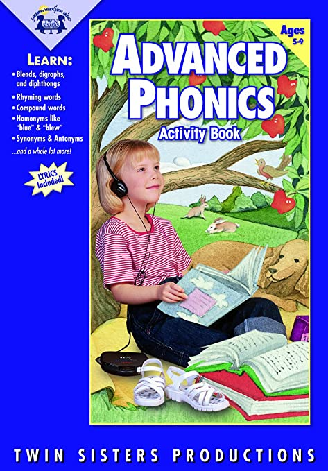 Twin Sisters Productions - Advanced Phonics Music CD/Book Set ...